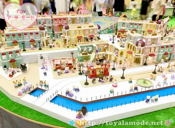 おもちゃショー シルバニアファミリー 巨大ジオラマ