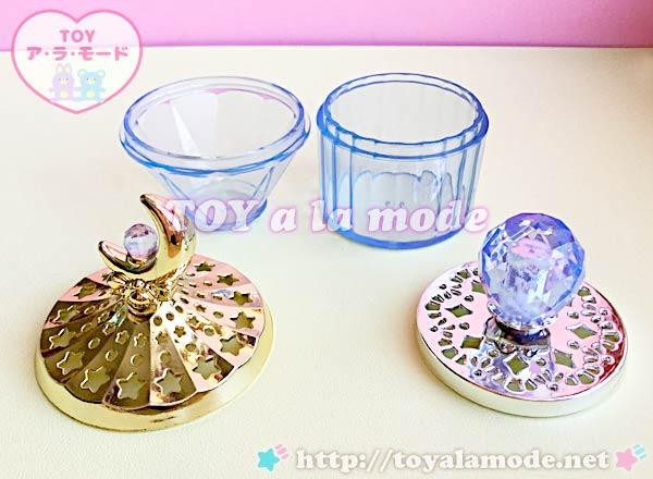 セーラームーン アンティークジュエリーケース ムーンスティックと銀水晶